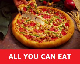 ALL YOU CAN EAT WITH PIZZA